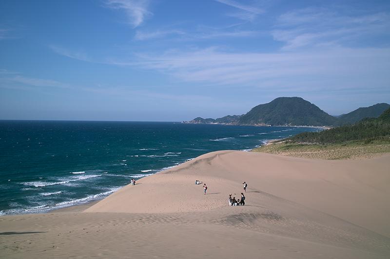 鳥取砂丘と海
